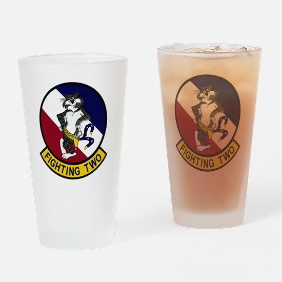 VF-2 Bounty Hunters - Fighting Two Drinking Glass