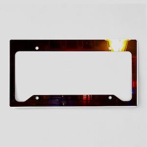 lams vice arge framed print License Plate Holder