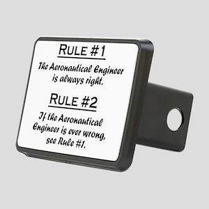 Rule Aeronautical Engineer Rectangular Hitch Cover