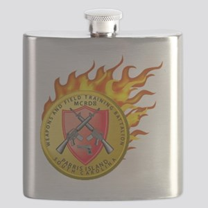 on fire Flask