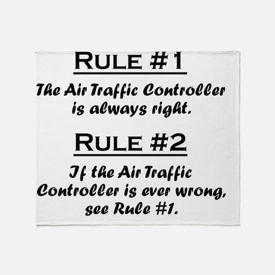 Rule Air Traffic Controller Throw Blanket