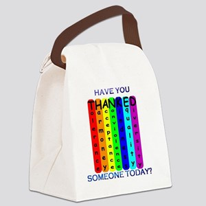 THANKED Canvas Lunch Bag