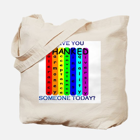 THANKED Tote Bag