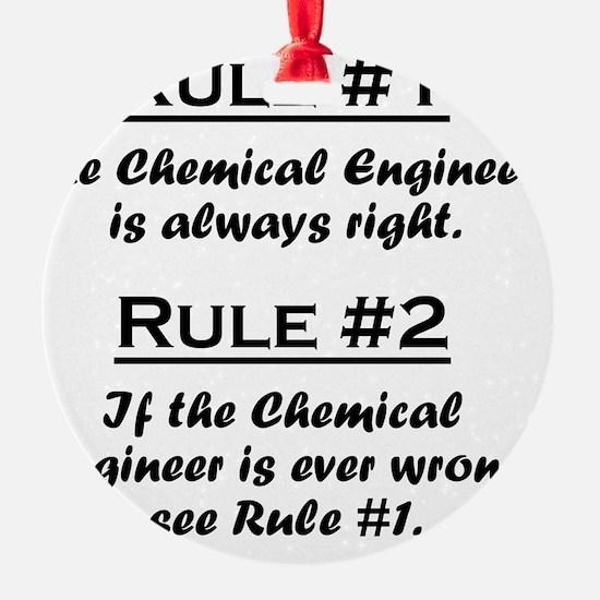 Rule Chemical Engineer Ornament