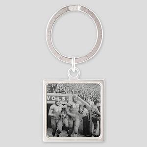Vintage Tennessee Vols Square Keychain