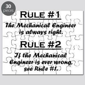 Rule Mechanical Engineer Puzzle