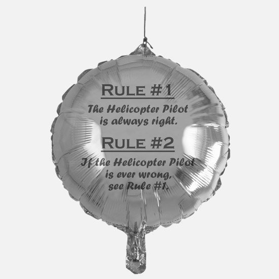 Rule Helicopter Pilot Balloon