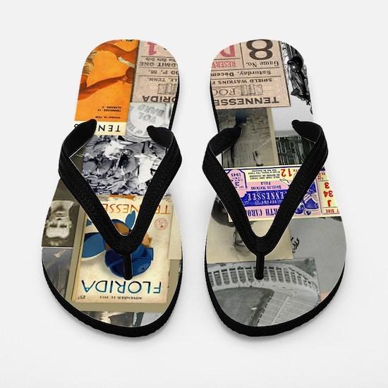 Vintage Tennessee Flip Flops