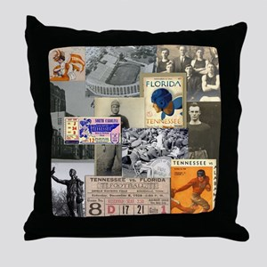 Vintage Tennessee Throw Pillow