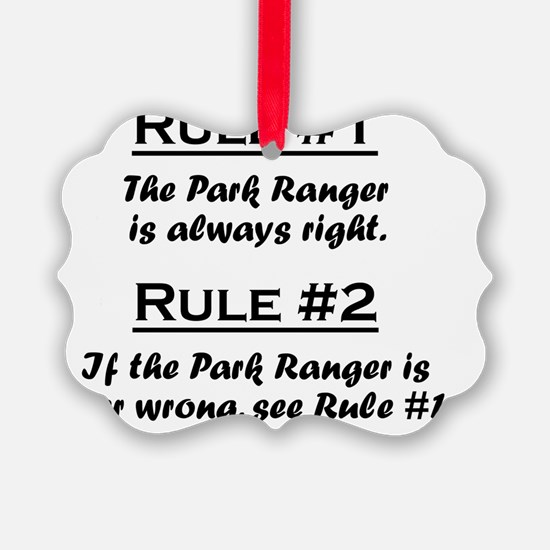 Rule Park Ranger Ornament