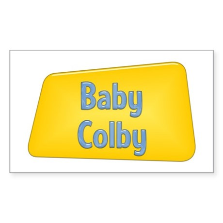 Baby Colby Rectangle Sticker