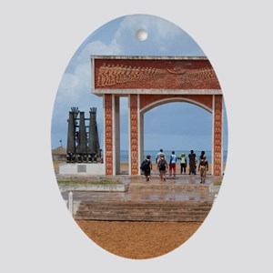 Infamous gateway of slavery. UNESCO  Oval Ornament