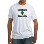 Celebrate Diversity Fitted T-Shirt