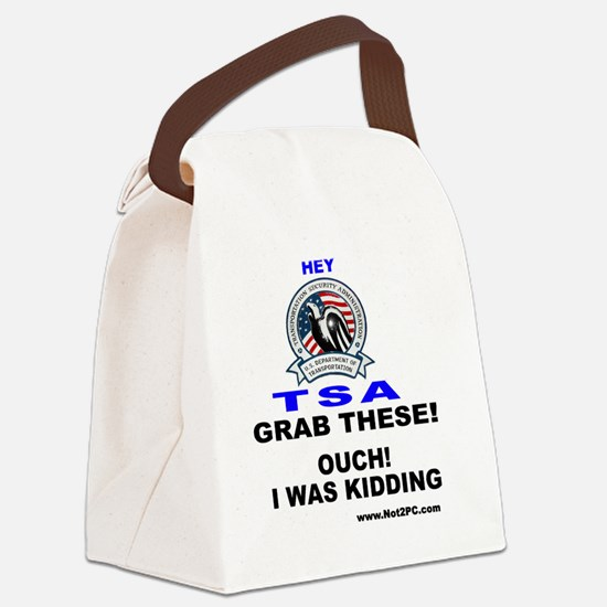 TSAgrabthese Canvas Lunch Bag