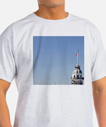 Greek watchtower rebuilt in the 12th T-Shirt