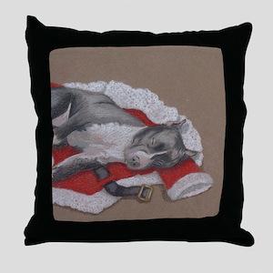 SilentNight-Axl Throw Pillow