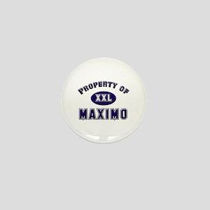 Property of maximo Mini Button