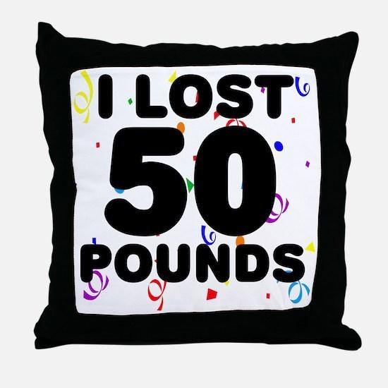 50Party Throw Pillow