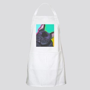 black1 large cafe Apron