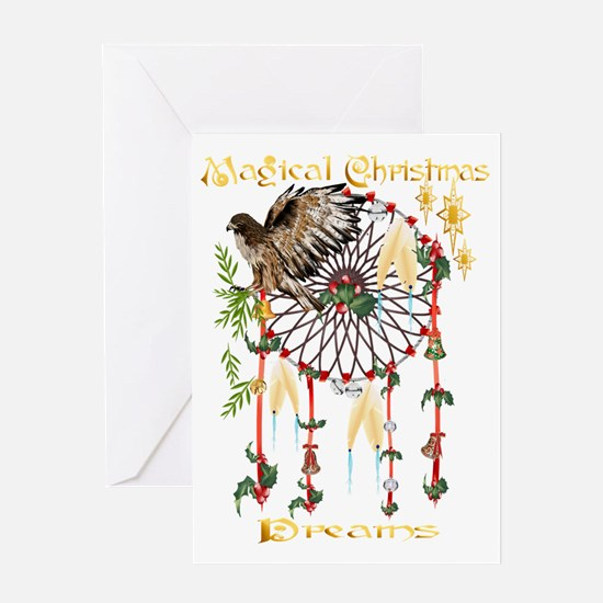 Magical Christmas Dreams Trans Greeting Card