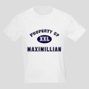Property of maximillian Kids T-Shirt