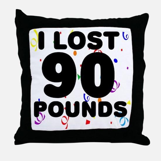 90Party Throw Pillow
