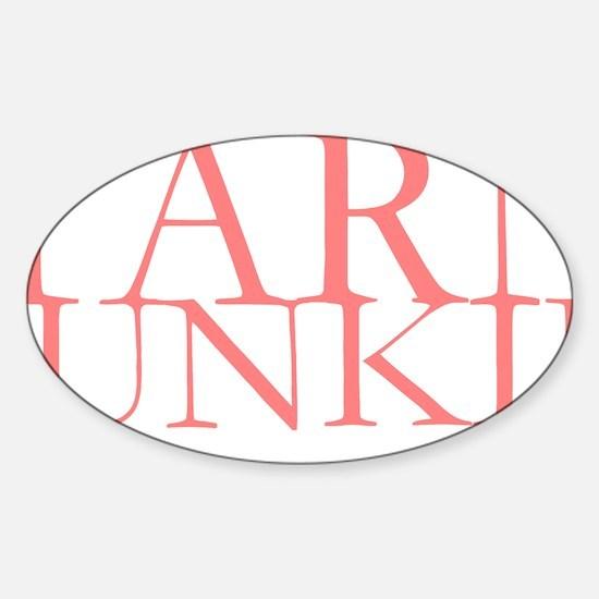 Yarn Junkie.gif Sticker (Oval)