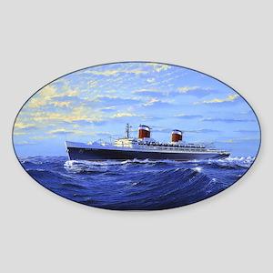 SSUSJamesAFloodCafepress Sticker (Oval)