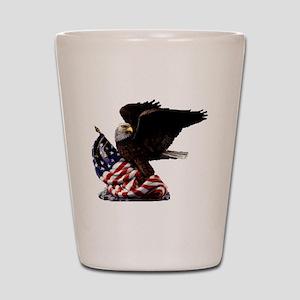 eagle1huge clean5 Shot Glass