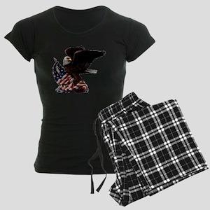 eagle1huge clean5 Women's Dark Pajamas