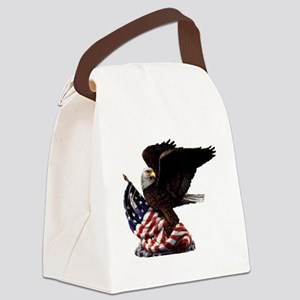 eagle1huge clean5 Canvas Lunch Bag