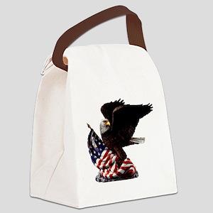 eagle1huge clean5 Canvas Lunch Bag