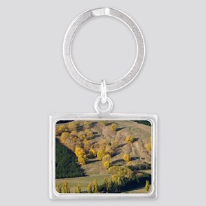 View from Te Mata Peak over Tuk Landscape Keychain