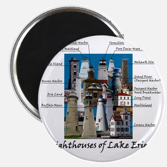 Lake Erie Designt Magnet