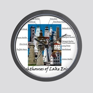 Lake Erie Designt Wall Clock
