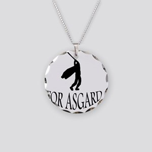 For Asgard! Necklace Circle Charm