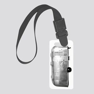 airstream trans vert 3 Small Luggage Tag