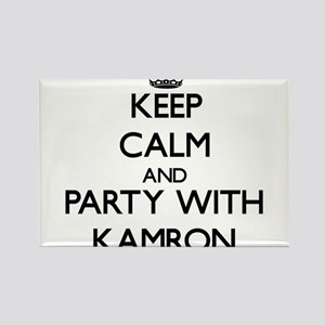 Keep Calm and Party with Kamron Magnets