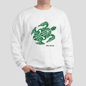Hilo, Hawaii Turtle Sweatshirt