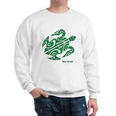 Hilo, Hawaii Turtle Sweatshirt