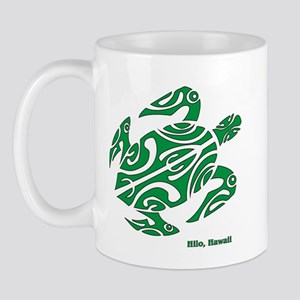 Hilo, Hawaii Turtle Mug