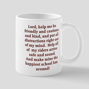 School Bus Driver's Prayer Mug