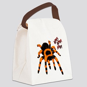 Spider Canvas Lunch Bag
