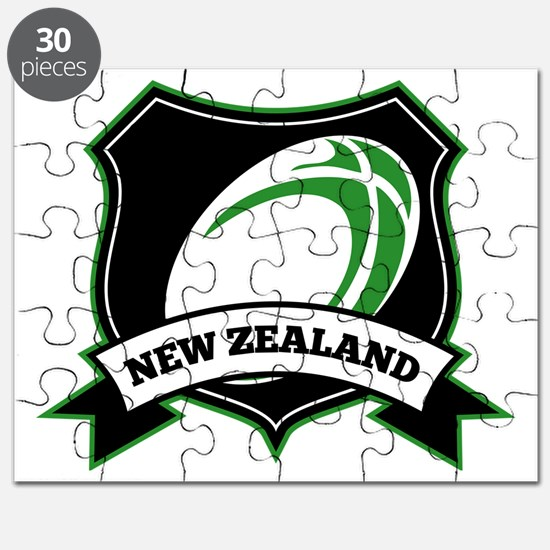 new zealand rugby ball shield Puzzle