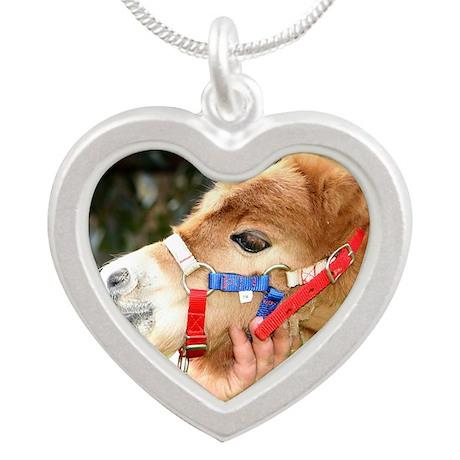 Orphaned Foal - Joy Silver Heart Necklace