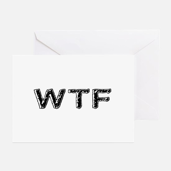 WTF Greeting Cards (Pk of 10)