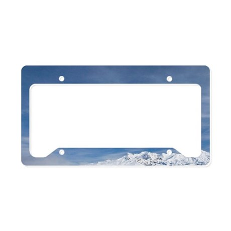 Rangipo Desert and Mt Ruapehu License Plate Holder