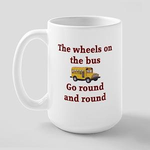 The Wheels On The Bus Large Mug