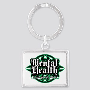 Mental-Health-Tribal Landscape Keychain