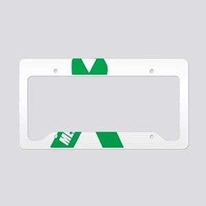 Mental-Health-Hope-blk License Plate Holder
